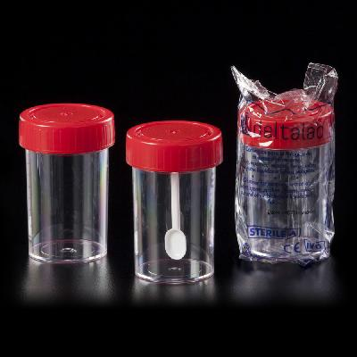 Flacons en polystyrène 60 ml