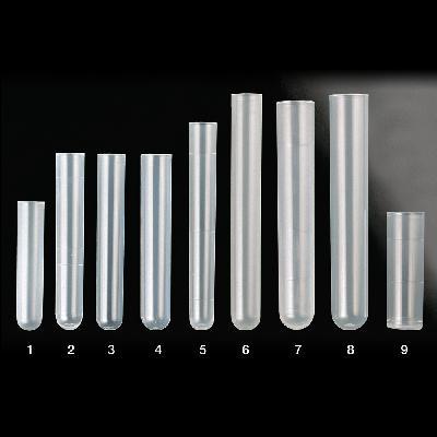 Ultra clear polypropylene tubes