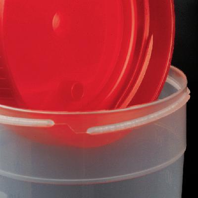 Flascó 200 ml (57 x 116 mm). Graduat