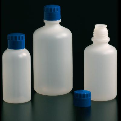 Narrow neck, high resistance bottles