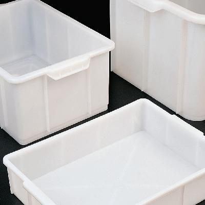 Wide mouth storage drums with tap and plug
