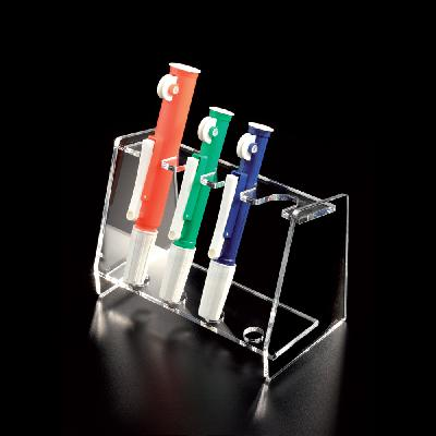 Pipette pump support rack