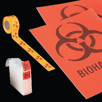 Etiquetas de señalización de peligro