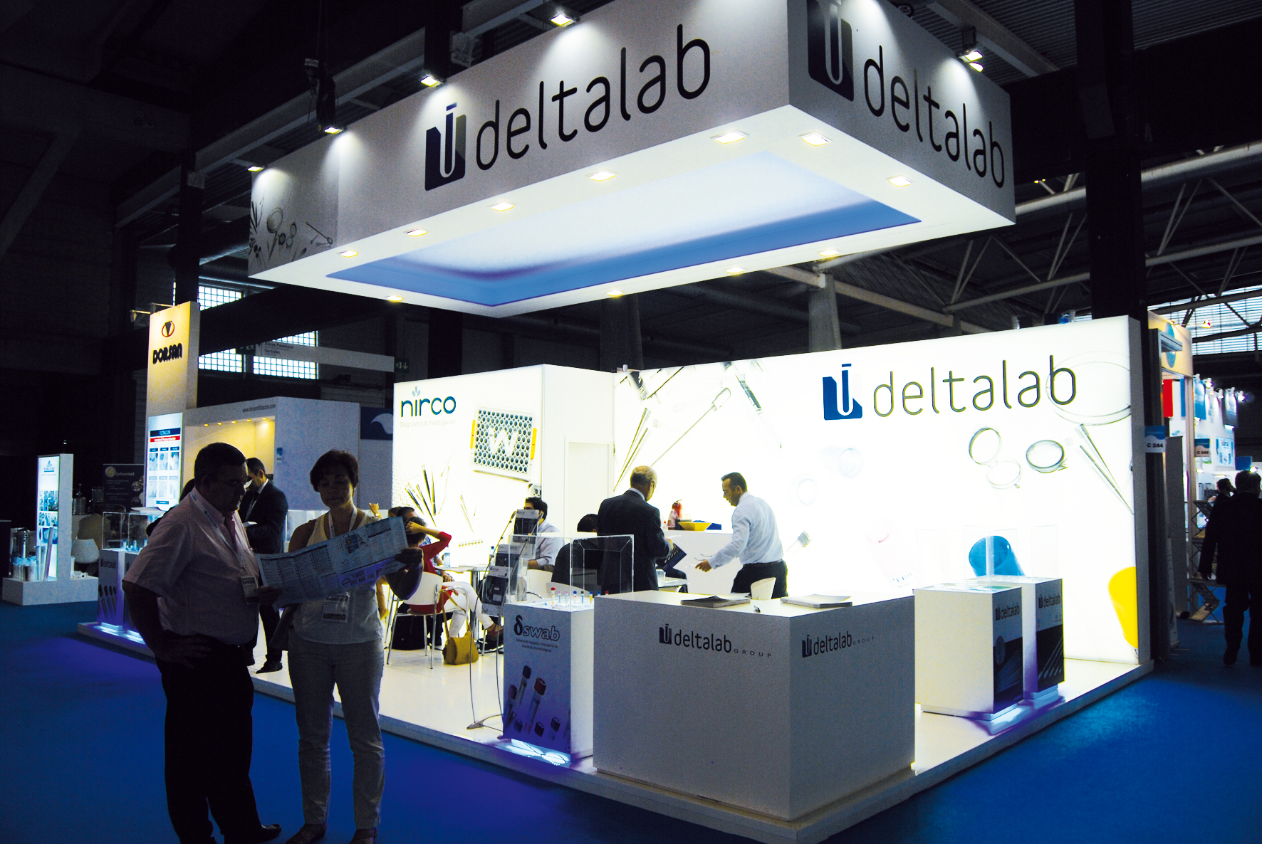 DELTALAB at Expoquimia 2014