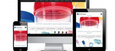 Deltalab estrena nuevo sitio web
