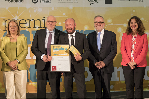 Deltalab receives the Cambra'17 Award for the Consolidated International Trajectory