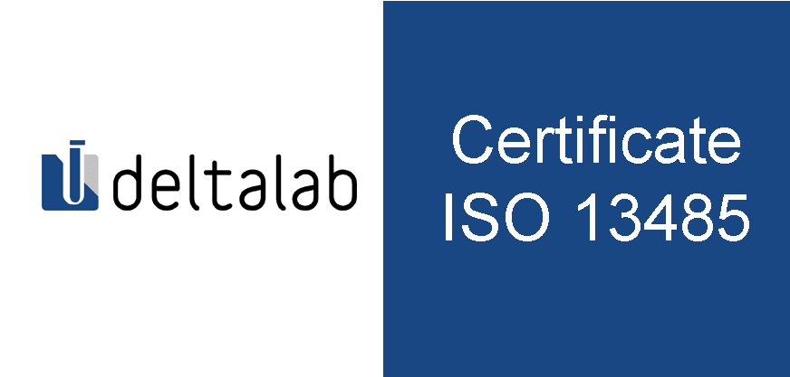Deltalab becomes the first company certified according to the new ISO 13485: 2016 by SGS in Spain