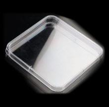 Boîte Pétri carré 120 x 120 mm