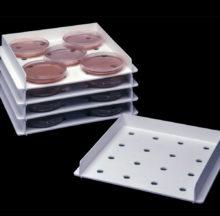 Panier d'incubation de boîtes de Pétri