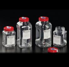 Flacons stériles pour le prélèvement d'eau