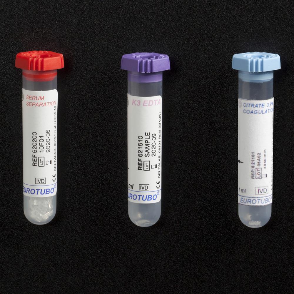 Tubs d'extracció especials per a pediatría