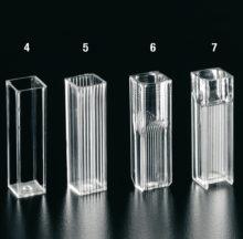Cuvettes pour spectrophotomètres – Spécial UV