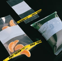 Sterile Whirl-Pak® sample bags – with strips