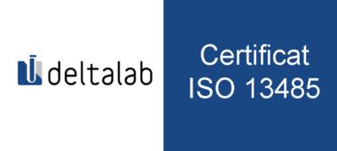 Deltalab es converteix en la primera empresa certificada segons la nova ISO 13485:2016 per SGS a Espanya