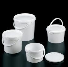 Cubos con tapa precintable, grandes volúmenes