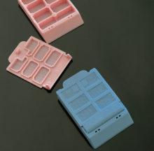 Cassettes à biopsie 6 compartiments