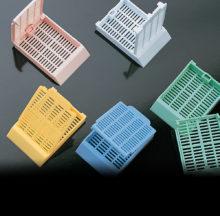 Cassettes for tissue. Histosette II