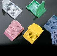Cassettes for biopsy. Histosette II