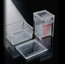 Cubetas de tinción con tapa