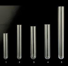 Round bottom polystyrene tubes