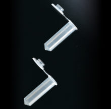 2 ml microtubes with attached caps
