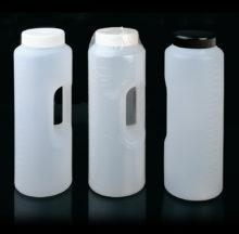 Flascó cilíndric graduat fins a 2 litres amb nansa