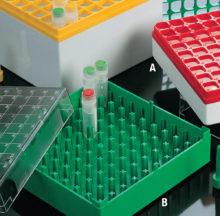 Gradetes per criovials en policarbonat