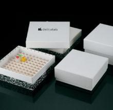 Caixes de congelació en cartró per criovials i microtubs