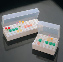 Gradeta amb tapa per microtubs