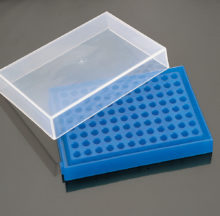 Gradetes per 96 PCR amb tapa