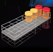Racks for containers up to 58 mm Ø