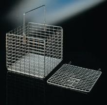 Paniers carrés avec couvercle en option