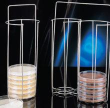 Cistells per al transport de plaques de Petri de fins a 100 mm Ø