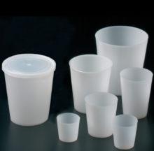 Vasos en polietileno