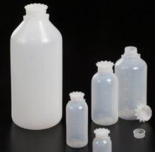 Graduated narrow neck bottles