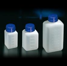 Botellas rectangulares graduadas