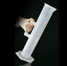 Cylinder with handle