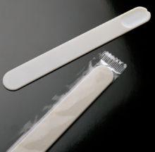 Plastic tongue depressors