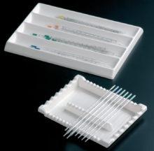 Safates per pipetes en PVC