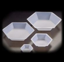 Safates hexagonals per pesar