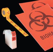 Etiquetes de senyalització de perill