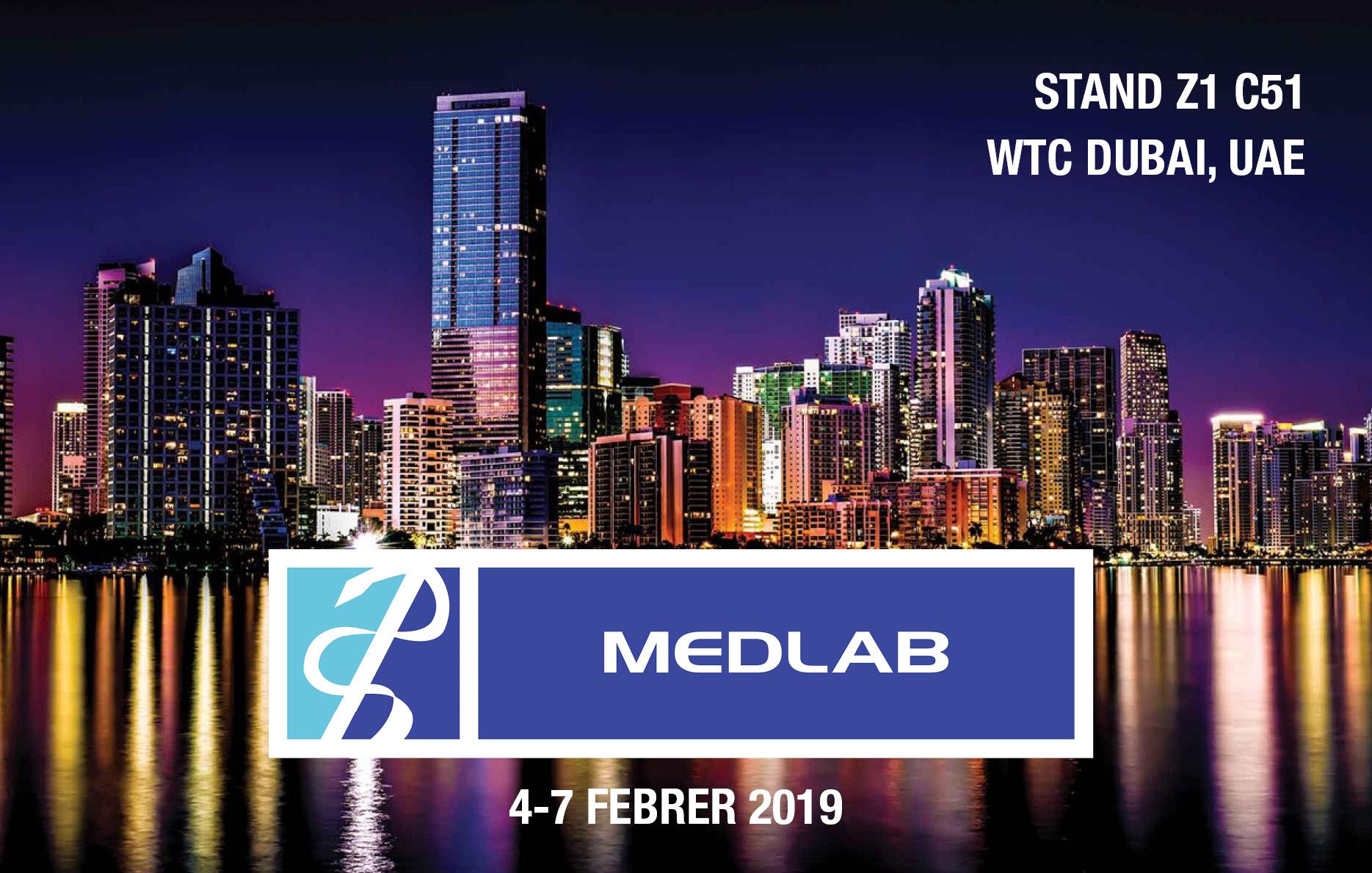 Deltalab participa a MEDLAB 2019