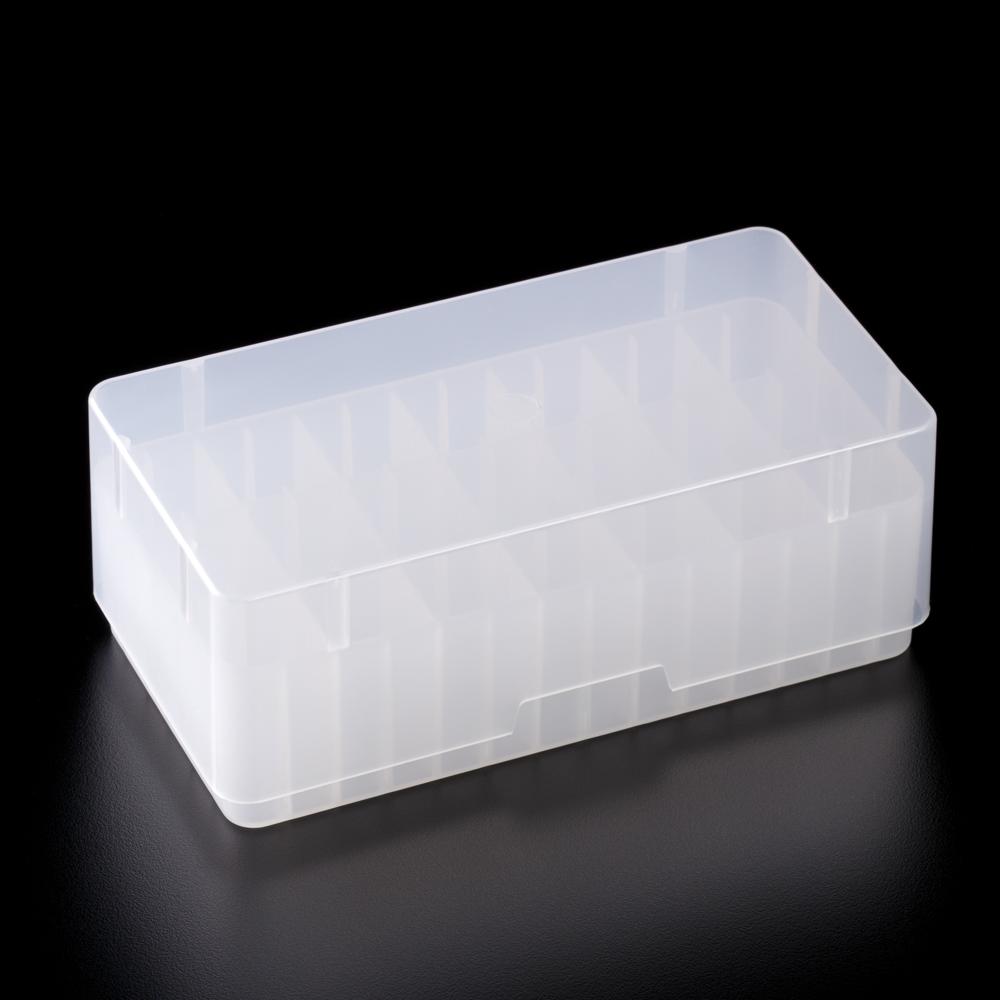 Portoirs pour 96 tubes PCR avec couvercle